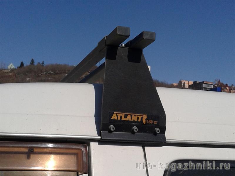 Багажник на крышу Газель, Атлант, стальные дуги