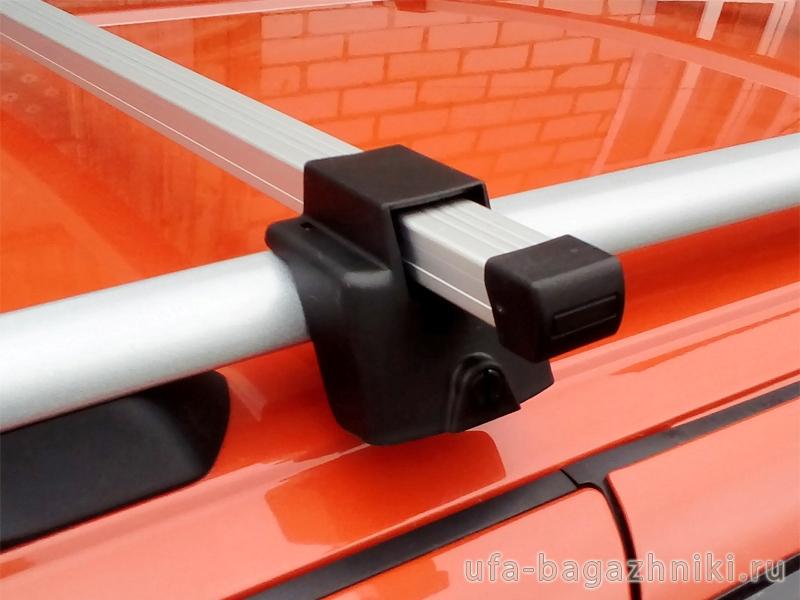 Багажник на рейлинги Атлант, алюминиевые дуги