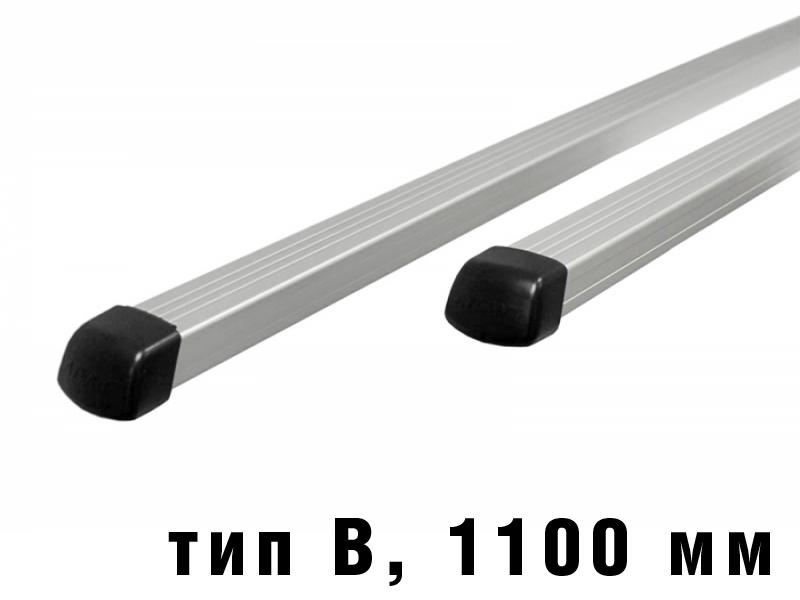 Дуги багажные, алюминиевые, прямоугольный профиль, Атлант - 1100 мм, тип B, артикул 8825