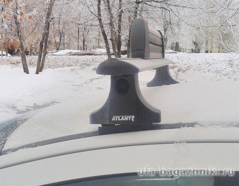 Багажник на крышу Peugeot 3008, Атлант, крыловидные дуги