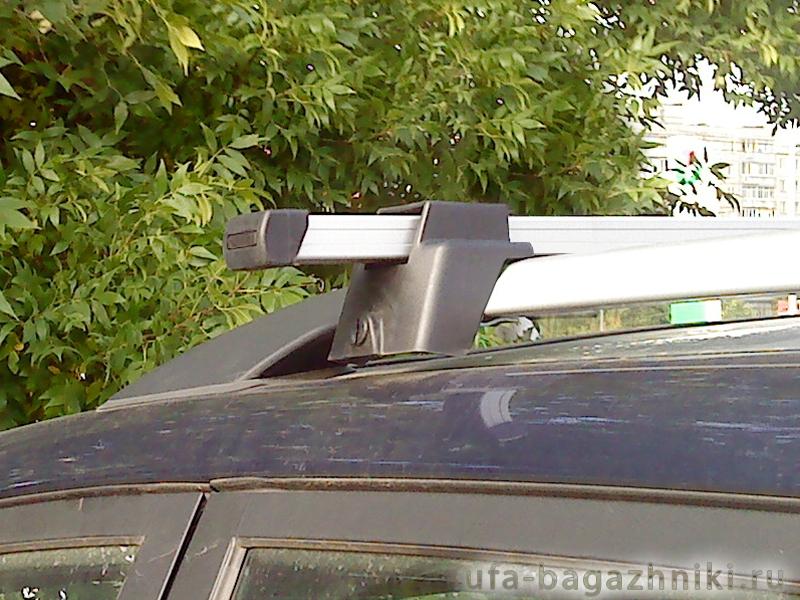 Багажник (поперечины) на рейлинги на Chery Tiggo FL 2005-2016, Атлант, алюминиевые дуги